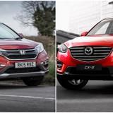 Mazda CR-5 vs Honda CR-V: Đua nhau giảm giá giành giật thị phần