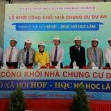 Khởi công dự án nhà ở xã hội công tư kết hợp đầu tiên tại TP.HCM