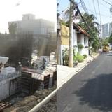 """SonKim Land và COFICO """"lên tiếng"""" về dự án Gateway Thảo Điền thi công làm sụt lún đường"""
