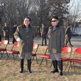 Ông Jang Song Taek và Kim Jong Un một thời như hình với bóng