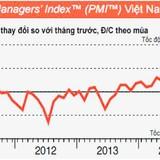 PMI tháng 5: Chạm đỉnh 4 năm