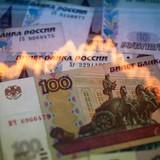"""Rúp Nga lại """"đo đáy"""" vì dầu thô sụt giá"""