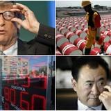 """Thế giới 24h: Chứng khoán Trung Quốc """"tắm"""" sắc đỏ, tiền Nga rơi tự do"""
