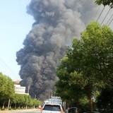 [Ảnh] Lại nổ tan hoang nhà máy hóa chất tại Trung Quốc