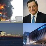 Thế giới 24h: Nhà máy hóa chất Trung Quốc phát nổ, ECB giữ nguyên lãi suất