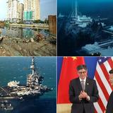 Thế giới 24h: Trung Quốc xây trạm nghiên cứu khổng lồ, Tư lệnh Hải quân Mỹ thăm tàu tại Biển Đông