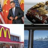 Thế giới 24h: Ông Trump vượt mặt bà Hillary, ông Tập uống trà đêm với ông Obama