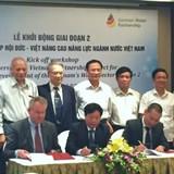 Khởi động giai đoạn II dự án hợp tác Hiệp hội Đức - Việt nâng cao năng lực ngành nước Việt Nam