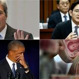 Thế giới 24h: Ông Obama rơi lệ khi cảm ơn vợ, thái tử Samsung bị tình nghi đút lót
