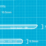 [Infographic] Các thiết bị Apple mỏng đến đâu?