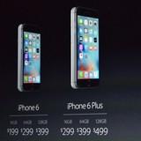 Apple chính thức ra mắt iPhone 6S và 6S plus