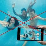 Xperia Z5 chống nước nhưng không được dùng dưới nước
