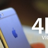 iPhone 6S 16GB chỉ quay được 30 phút phim 4K