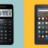 Tại sao máy tính Casio lại đắt gấp 4 lần máy tính bảng Amazon?