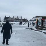 [Ảnh] Đỉnh Mẫu Sơn trong những ngày tuyết phủ