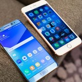 Iphone 6S vẫn nhanh hơn Galaxy Note 7