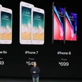 Ngay sau khi iPhone X ra mắt, các mẫu máy cũ đồng loạt giảm giá