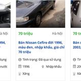 """Công nghệ 24h: Ô tô 50 triệu đồng rao bán """"nhan nhản"""" trên mạng"""