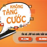 """Vietnamobile """"nuốt lời"""", điều chỉnh cước 3G"""