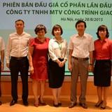 6 cá nhân mua hết 20% cổ phần Công ty công trình giao thông Hà Nội