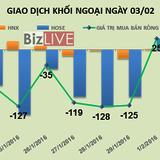 Phiên 3/2: Khối ngoại xả mạnh HVG bất chấp cổ phiếu giảm sàn