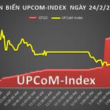 UPCoM 24/2: Hơn 1,8 triệu cổ phiếu SWC được trao tay