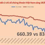 Chứng khoán sáng 19/8: VNM, MSN giúp chỉ số cầm cự trước xu hướng chốt lời