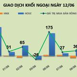 Phiên 12/6: Khối ngoại mua gần 20 tỷ đồng ROS, đẩy cổ phiếu tăng trần
