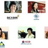 """Những """"nữ tướng"""" đến và đi trong tái cơ cấu ngân hàng"""