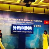 Thành lập trung tâm hỗ trợ FTA Việt - Hàn