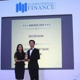 Sacombank nhận thêm 02 giải thưởng quốc tế