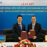 2 phút chuyển tiền về Việt Nam qua Uniteller - Sacombank