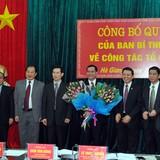 Tổng giám đốc Tập đoàn Hoá chất giữ chức Phó bí thư Hà Giang