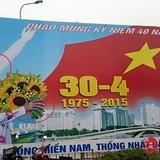 """<span class='bizdaily'>BizDAILY</span> : Hà Nội gỡ bỏ toàn bộ """"Pano kì dị"""" chào mừng 30/4"""