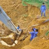 Báo cáo Thủ tướng tiến độ tuyến ống nước Sông Đà số 2