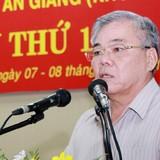 Bí thư tỉnh An Giang giữ chức Phó Ban Kinh tế Trung ương