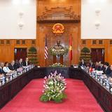 Thủ tướng Nguyễn Xuân Phúc và Tổng thống Mỹ Obama trao đổi về vấn đề Biển Đông