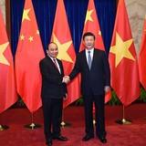 Thủ tướng Nguyễn Xuân Phúc hội kiến Chủ tịch nước Trung Quốc Tập Cận Bình