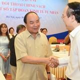 Thủ tướng Nguyễn Xuân Phúc đối thoại với 14 doanh nghiệp tư nhân