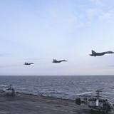 Nga điều khu trục hạm, đội máy bay đến Địa Trung Hải