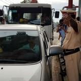 BOT Biên Hòa thu phí lại sau khi cảnh sát giao thông làm việc với tài xế