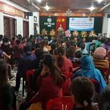 Hàng trăm tiểu thương chợ Hồ Xá bãi thị, Chủ tịch huyện ''đối thoại khẩn''
