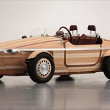 """Toyota """"chơi độc"""" khi tung concept xe hơi làm từ gỗ"""