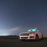 Ford thành công với xe hơi tự lái trong đêm