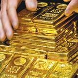 Giá vàng chạm đáy trong 2 tuần liên tiếp
