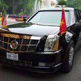 Những mẫu xe góp mặt trong đoàn xe chở Tổng thống Mỹ tại Hà Nội