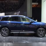 """Xe sang 7 chỗ sắp ra mắt của Infiniti liệu có """"đấu"""" lại với đối thủ BMW, Lexus"""