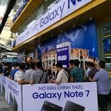 Samsung ngừng kích hoạt Galaxy Note 7 để yêu cầu người dùng đổi máy