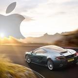 Apple tham vọng mua lại hãng xe McLaren