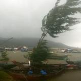 4h chiều nay, áp thấp nhiệt đới giật cấp 7- 8 sẽ đổ bộ vào Bình Thuận